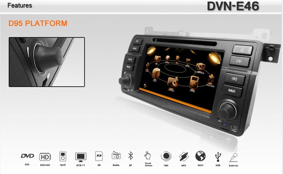 meniu principal dvd auto bmw e46