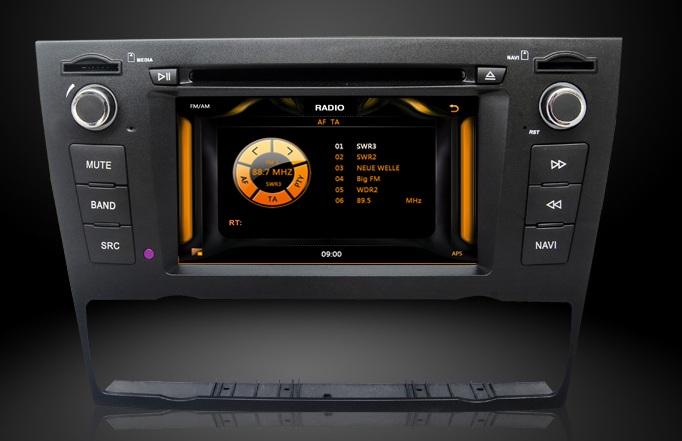 radio tuner navigatie bmw e90