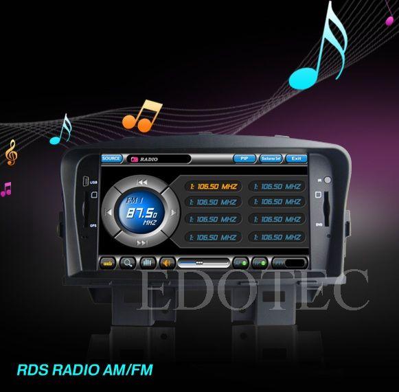 radio tuner dvd auto chevrolet cruze