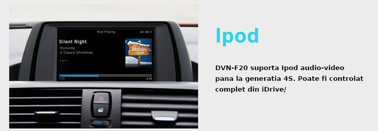 conectare ipod iphone bmw seria 1 3 f20 f30