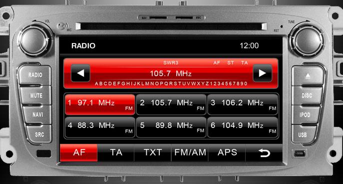 radio tuner navigatie auto dynavin ford