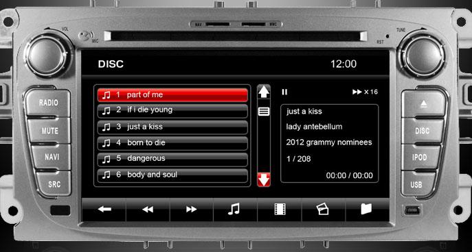 dvd/usb/sd navigatie auto ford dynavin