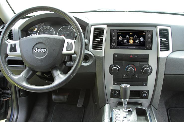 jeep grand cherokee gps auto instalat