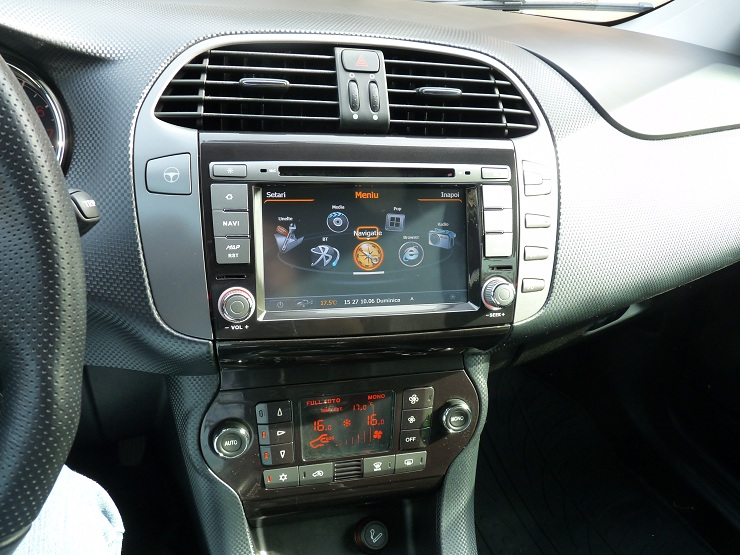 radio cd cu usb si sd audio video fiat bravo