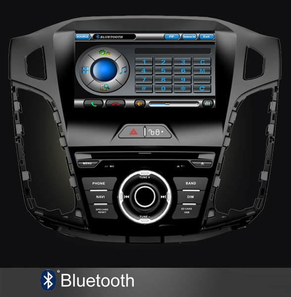 ford focus 2011 2012 bluetooth dvd auto navigatie