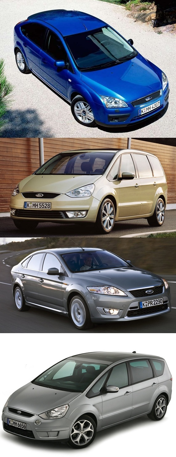 ford mondeo focus s-max galaxy