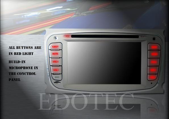 ecran tactil 6.2 dvd auto ford focus
