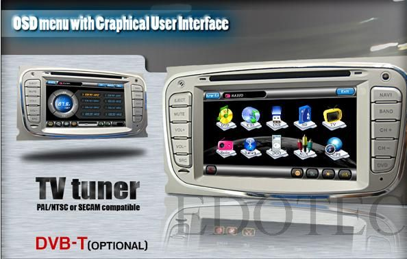 tuner tv dvd auto ford mondeo