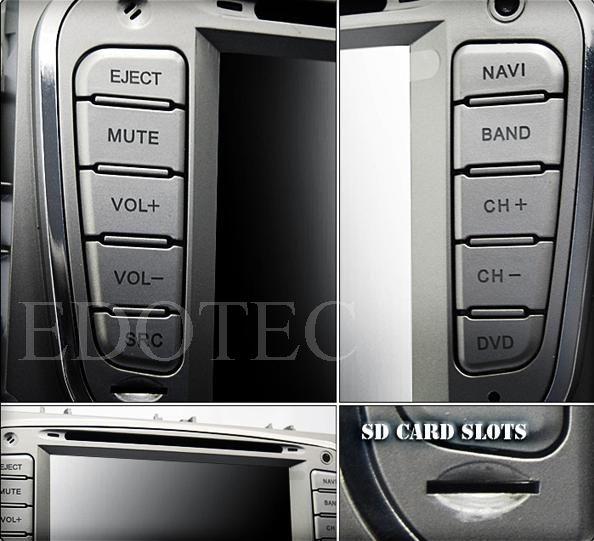 usb si sd pe dvd auto 2 din ford s-max