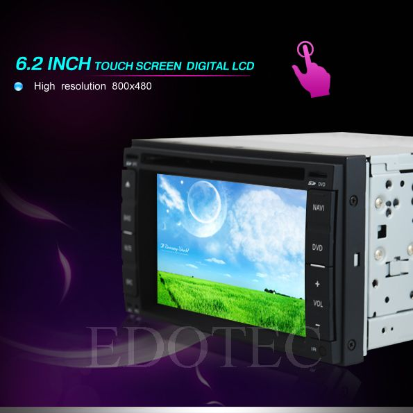 ecran tactil 6.2 dvd auto gama nissan