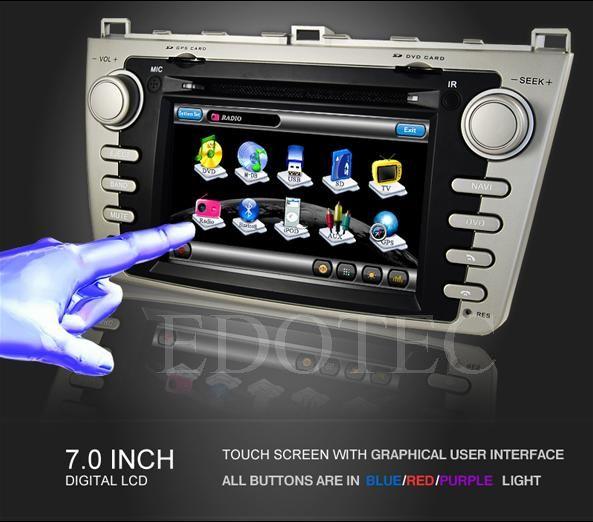 ecran tactil 7 dvd auto mazda 6