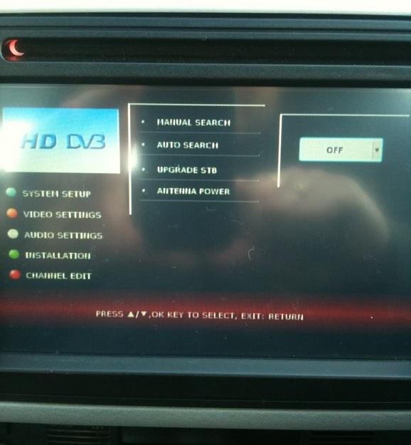 dvd dedicat cu tv mercedes cls