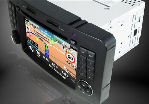 navigatie auto touchscreen mercedes gl