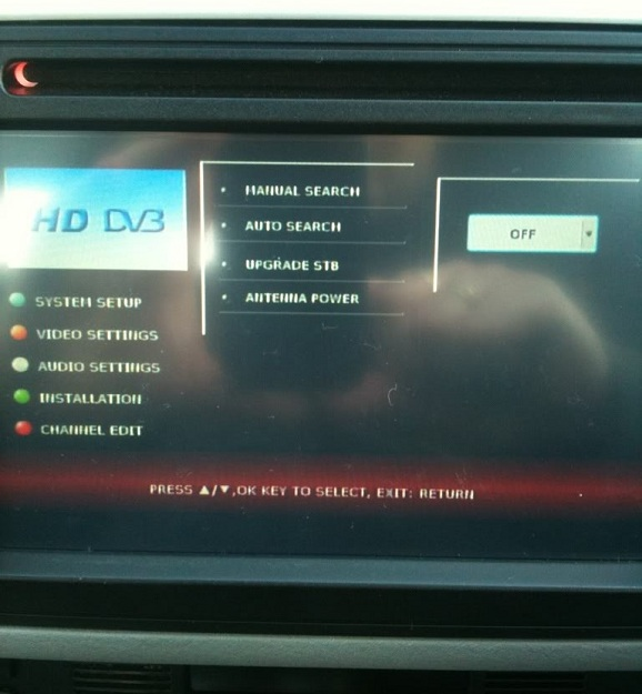dvd dedicat cu tv mercedes ml