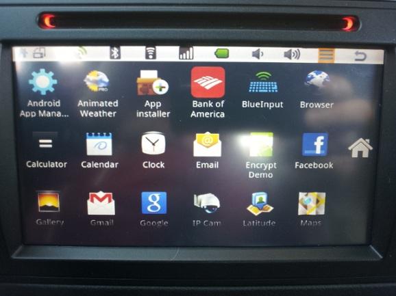 navigatie auto touchscreen mc2000 poza android 3