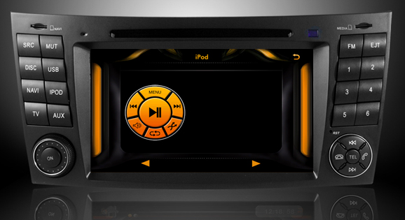 interfata ipod dvd auto mercedes clasa e w211