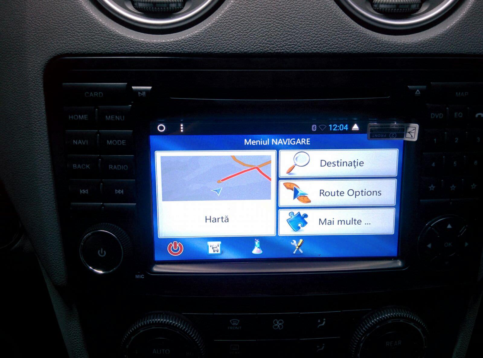 navigatie octa core cu android pentru mercedes  ml mercedes gl