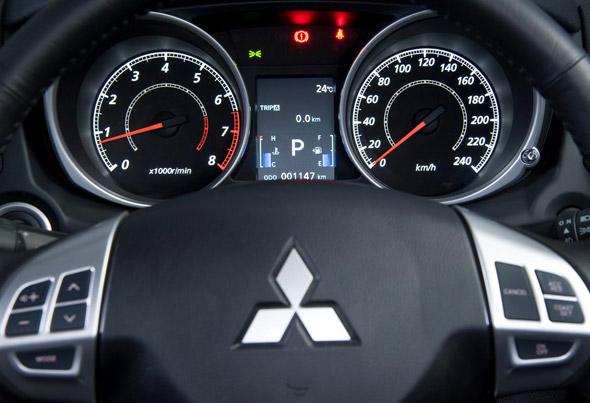 navigatie auto preia comenzi volan mitsubishi asx