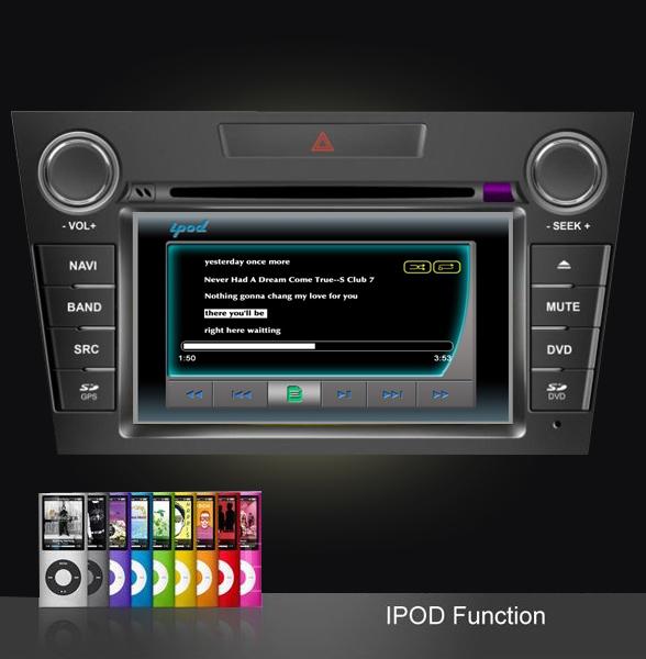 mazda cx-7 dvd auto gps ipod