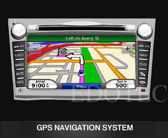 navigatie cu gps subaru outback
