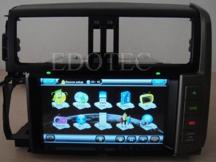 ecran tactil 8 dvd auto toyota landcruiser prado