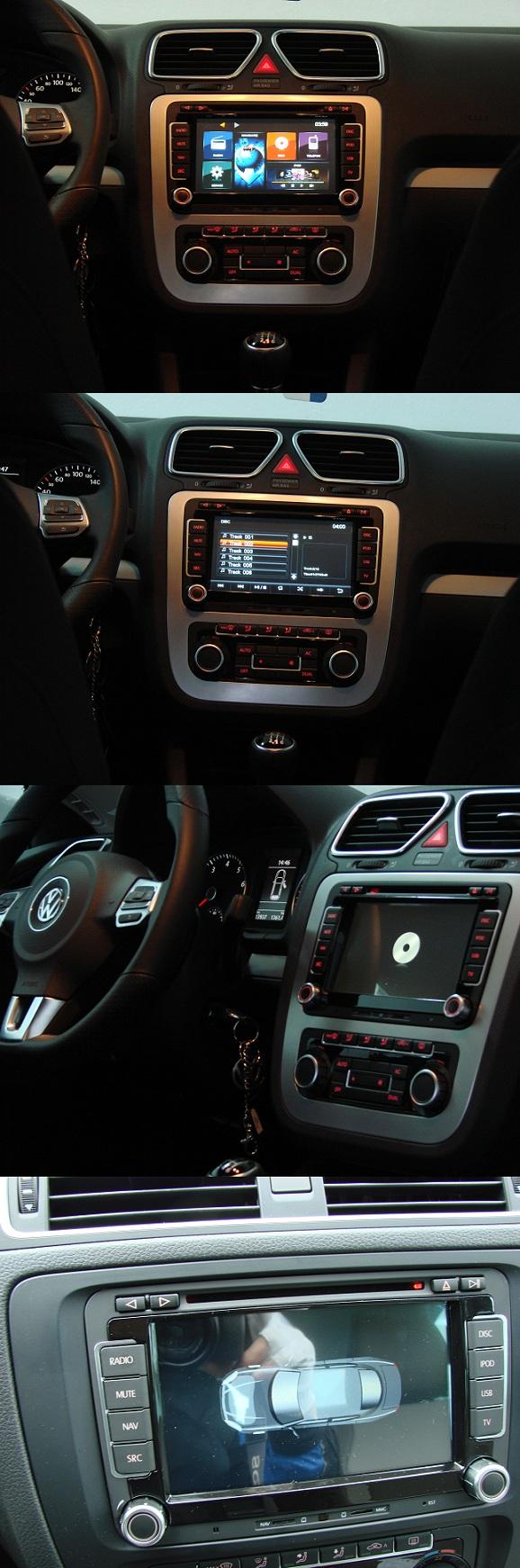 dvd auto cu navigatie prin gps pentru vw skoda seat