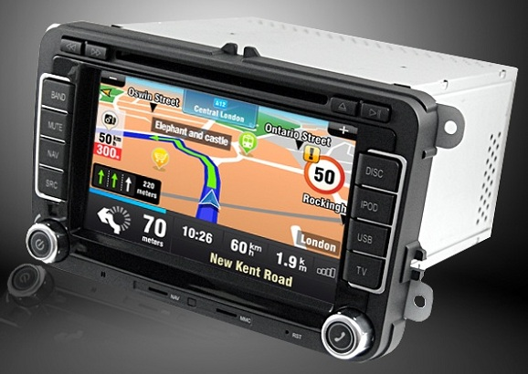 navigatie auto touchscreen cu android si internet