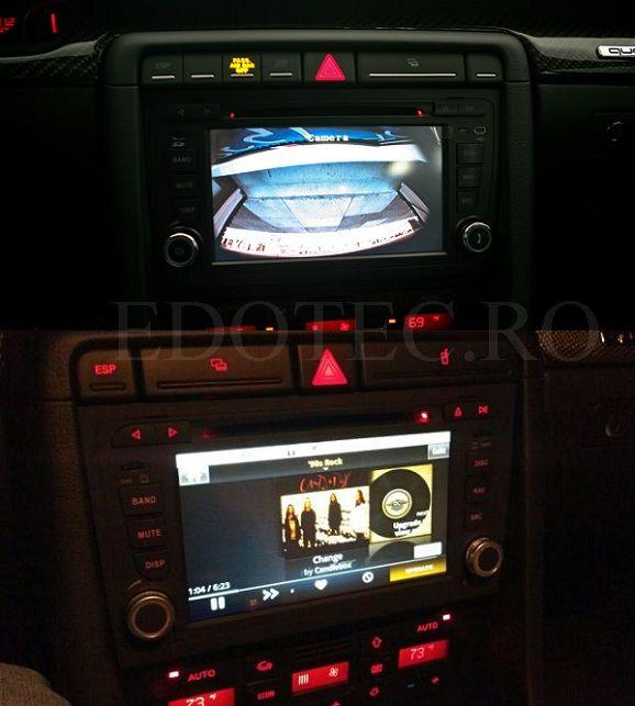 dvd auto dynavin a4 instalat pe audi a4