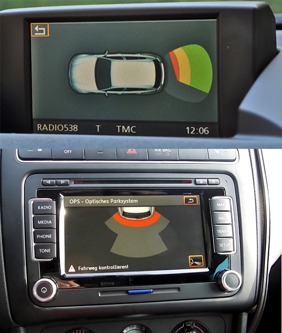 senzori de parcare oem spate bmw si vw